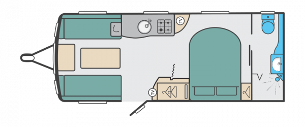 Swift Corniche 20/8 2022 - Wandahome Special Edition Floorplan