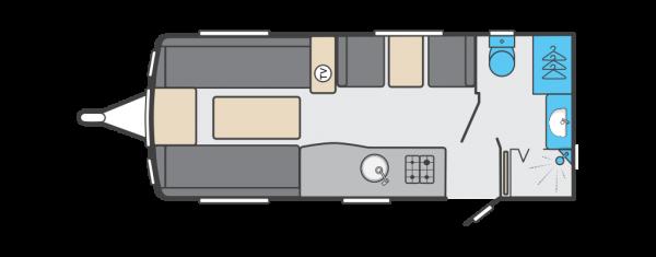 Swift Corniche 17/4 2022 Wandahome Special Edition Floorplan