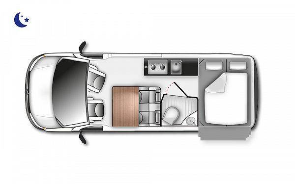 Westfalia Sven Hedin (11987) Floorplan