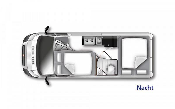 Westfalia Columbus 601 D (10179) Floorplan